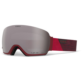 Giro Article Maschera Uomo, red peak/vivid onyx/vivid infrared